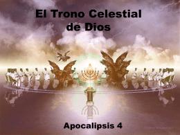 6. trono de dios - Iglesia Cristiana La Serena