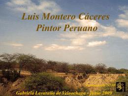 luis montero caceres-pintor peruano