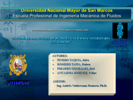 Diapositiva 1 - Universidad Nacional Mayor de San Marcos