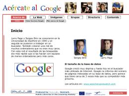 Más acerca de Google