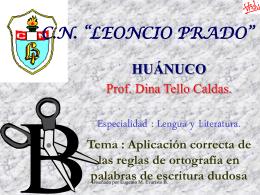 """C.N. """"LEONCIO PRADO"""""""