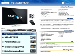 TX-P60ZT60E - Supersonido