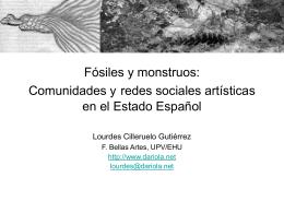 Fósiles y monstruos: