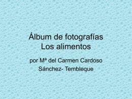 Álbum de fotografías - Gobierno de Canarias