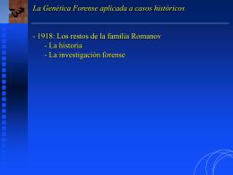 01- Los restos de los Romanov