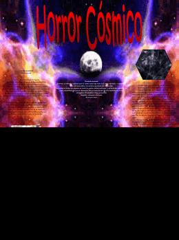 Horror Cósmico - Fundación Alonso Quijano