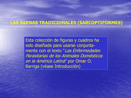 Sarnas tradicionales (sarcoptiformes)