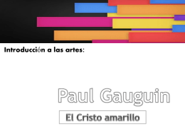 10 Paul Gauguin – El Cristo amarillo 2014