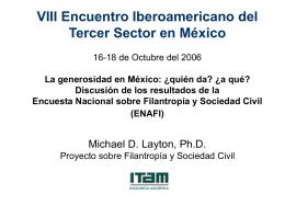 Cómo expresan su generosidad los mexicanos?