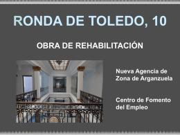 CENTRO RONDA DE TOLEDO - Ayuntamiento de Madrid