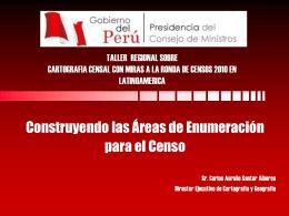 RONDA DE CENSOS 2010: