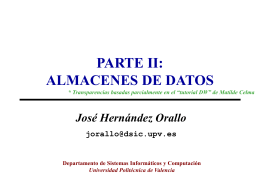 PPT - Universidad Politécnica de Valencia