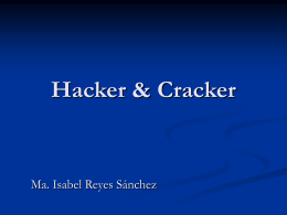 Hacker vs Cracker