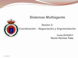Coordinación (Negociación y Argumentación)
