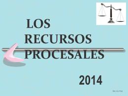 Los Recursos - Poder Judicial Tucumán