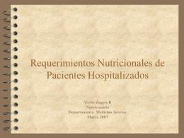 rec.nutricionales 2007 - Facultad de Medicina UFRO