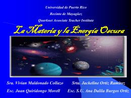 La Materia y la Energía Oscura