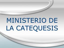 Ministerio del Catequista