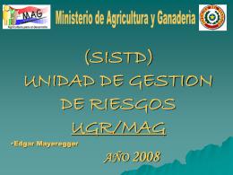 MINISTERIO DE AGRICULTURA Y GANADERIA