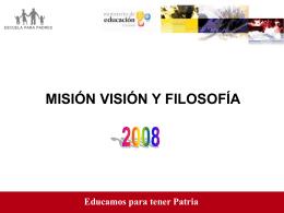 escuela para padres - Ministerio de Educación