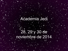 Academia Jedi - AACF, Asociación de Amigos de la Ciencia Ficción