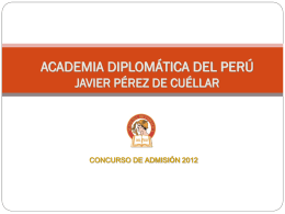 Academia Diplomatica de Perú