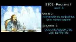 GUIA 8 - Centro de Estudios Espiritas Sin Fronteras