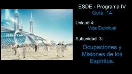 GUIA 14 - Centro de Estudios Espiritas Sin Fronteras