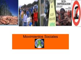 Movimientos Sociales - Psicología U. Autónoma.
