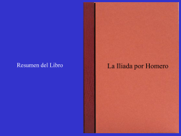 Libro La Iliada - ajedrez interactivo