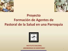 Proyecto Pastoral de la Salud P Javier Vivas3