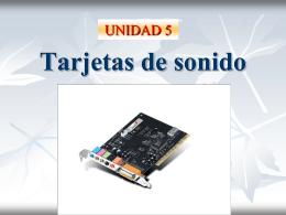 TARJETAS DE SONIDO - Ciudaddelosmuchachos-SMR