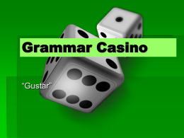 Grammar Casino - WordPress.com