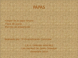 La papa - WordPress.com