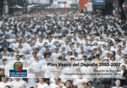 Plan Vasco del Deporte