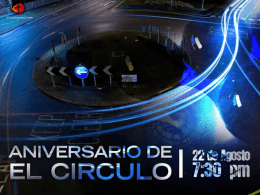 Slide 1 - El Círculo