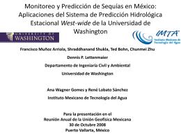 Monitoreo y Predicción de Sequías en México