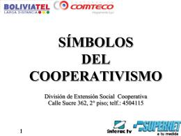 LOS SIMBOLOS DEL COOPERATIVISMO