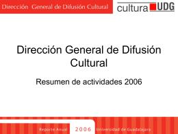 INTRODUCCIÓN - Universidad de Guadalajara