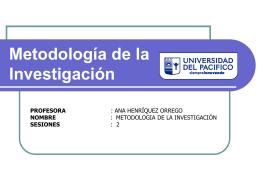 Citas y Marco Teórico - metodología de la investigación (upacífico)