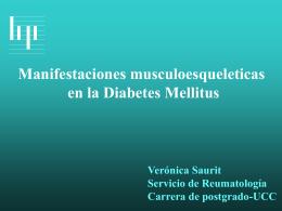 Manifestaciones Músculo- Esqueléticas en la