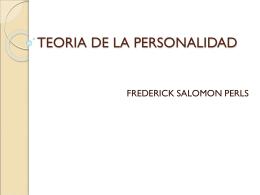 TEORIA DE LA PERSONALIDAD