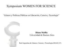 Red Argentina de Género, Ciencia y Tecnología