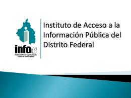 Presentación del Lic. Ignacio Núñez