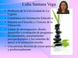 Dra. Lidia Santana Vega