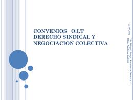 Constitucion de Organizaciones Sindicales