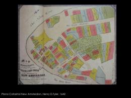 Plano Catastral New Amsterdan, Henry D.Tyler, 1642