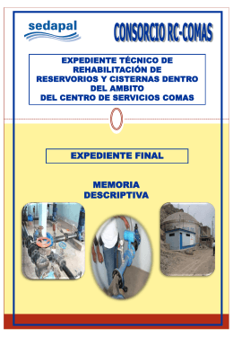 expediente final otros expediente técnico de