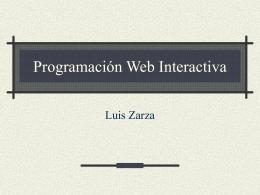 Creación de Páginas de Web