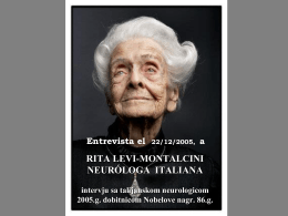 RITA LEVI-MONTALCINI, NEURÓLOGA